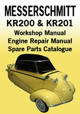 MESSERSCHMITT KR200 & KR201 WORKSHOP MANUAL