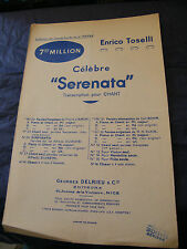 Partition Serenata Enrico Toselli Music Sheet