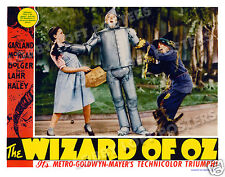 THE WIZARD OF OZ  LOBBY SCENE CARD # 2 POSTER 1939 RAY BOLGER JACK HALEY