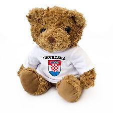 Croatie / Hrvatska Drapeau Ours En Peluche - Croate F Cadeau