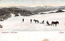 Norway postcard Norge, Folgefonden i Hardanger