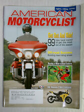 AMERICAN MOTORCYCLIST BACK ISSUE HARLEY HONDA 2008 APRIL CBR 1000RR GOLDWING