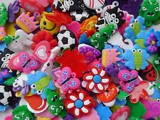 100pcs Charms For Rainbow Loom Rubber Bands Bracelet Making Crafts
