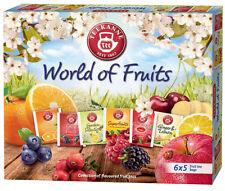 Teekanne World of Fruit Tea Selection 6 flavours 5 teabags each