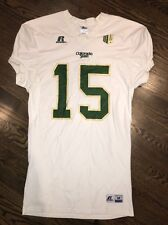 Game Worn Used Colorado State Rams Football Jersey #15 Russell M name Shaw