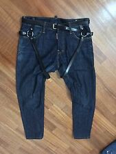 Dsquared Jeans Leather Suspender