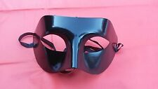 Plain Black/White Eye Masks  Masquerade Face Mask Party/Halloween