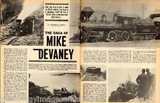 Oregon & California Railroad Saga Of Mike Devaney