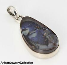 BOULDER OPAL & 925 STERLING SILVER PENDANT JEWELRY  R518A