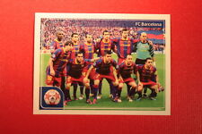 PANINI CHAMPIONS LEAGUE 2011/12 N 550 BARCELONA VICTORY WITH BLACK BACK MINT!!