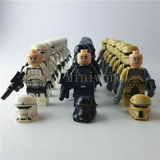 PRESELL 24pcs/lot Minifigure Star Wars Troopers Building Toy Kids Gifts