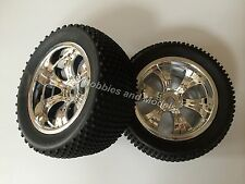 Ansmann 1:8 Scale Monster Type Buggy Wheels & Tyres (2pkt) - Inferno, Hyper etc