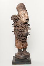 Bakongo Nail Fetish Figure, D.R. Congo, African Tribal Art, African Sculpture