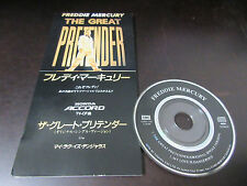 Freddie Mercury Great Pretender Japan 3 inch Mini CD Single in 1995 Queen