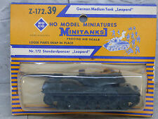 Roco Minitanks / Herpa (NEW) Modern West German Leopard Medium Tank Lot #1257