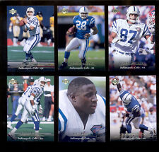 1995 UD Indianapolis Colts Set MARSHALL FAULK JIM HARBAUGH SEAN DAWKINS TURNER