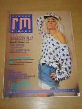 RECORD MIRROR 1987 SEP 5 TRANSVISION VAMP SMITHS PRIMITIVES VIZ BUTTHOLE SURFERS