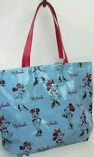 Disney Parks Authentic Minnie Mouse Blue and Red Fashion Tote Shoulder Bag