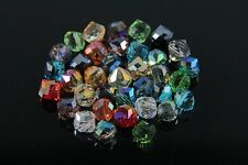 60pcs 8mm Crown shape Swarovski crystal bead B multi-colored