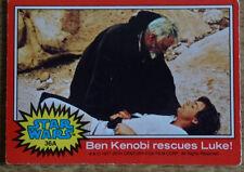 Toops Star Wars trading card, 36A Ben Kenobi rescues Luke!
