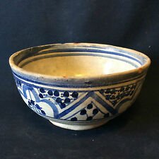 Céramique marocaine Safi bol XIXème début XXème Maroc ,