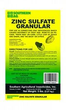 Southern Ag Zinc Sulfate Granular (5lb)