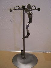 Mexican Steampunk - Utility Pole Worker Metal Sculpture - Mexico