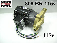 March  809 BR  115V Hot water pump  0809-0064-0100