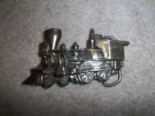B & O Steam Engine Train Belt Buckle