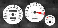 Honda CBX550F Tachoscheiben 550 Tacho Gauge Dial kmh disk plates gauge CBX