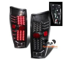 LED Tail Lights FOR 2002-2006 Chevy Chevrolet AVALANCHE Pickup Black Rear Brake