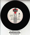 """FINE YOUNG CANNIBALS She Drives Me Crazy 7"""" 45 rpm record + juke box title strip"""