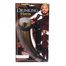 MEDIEVAL DRINKING HORN FANCY DRESS UP ACCESSORY FRENCH VIKING DRINKING CUP