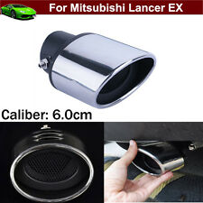 1pcs Exhaust Muffler Tail Pipe Tip Tailpipe Cover Trim For Mitsubishi Lancer EX