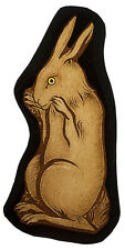 Hare stained glass fragment, kilnfired, hare, stained glass motif, suncatcher