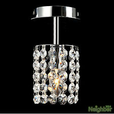 "Modern Crystal 3.9"" Small Chandelier Ceiling Lamp Pendant Light Hallway Lighting"