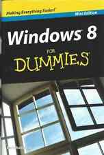 NEW PAPERBACK WINDOWS 8 FOR DUMMIES