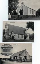 COLLECTION OF 6 x CO. DERRY LONDONDERRY IRELAND POSTCARDS FROM MONEYMORE AREA