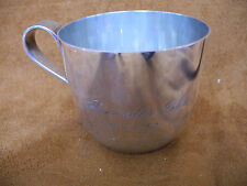 Vintage sterling Tiffany & Co Makers Baby cup