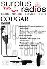 Cougar Tactical Police Headset W/PTT Motorola APX6000 APX7000 APX4000 APX8000