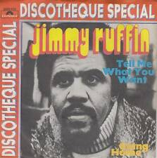 Jimmy Ruffin (Temptations) - Tell Me What You Want/Going Home (Vinyl-Single) !!!