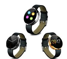 360 Round Bluetooth Smart Watch Heart Rate Monitor For Android Samsung Moto LG