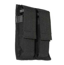 New! Blackhawk Double Pistol Magazine Pouch Hook and Loop Black 61ACDMBK