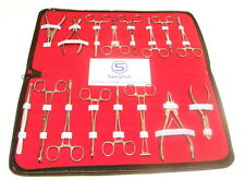 16 Piece Professional Body Piercing Tools Set, Tattoos, Piercing Kits & Supplies