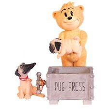 """BAD TASTE BEARS - Pug 4"""" (Sealed) #NEW"""