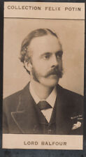 Arthur James Balfour 1st Earl Prime Minister United Kingdom IMAGE CARD 1907