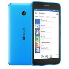 "NUOVO CON SCATOLA LUMIA 640xl 5.7"" MICROSOFT Blu 8gb 13mp Windows Smartphone SIM-Free"