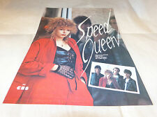 SPEED QUEEN - Publicité de magazine / Advert HAUTE TENSION !!!!!