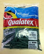 Qualatex Green 260Q Entertainer Balloons ~ 100 ct.