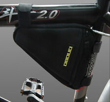New Black Mountain Bike Bicycle Frame Front Tube Triangle Bag Water Proof Pouch